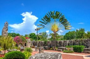 historic coral castle in miami