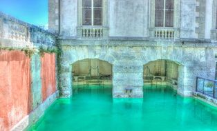 vizcaya green pool miami florida old
