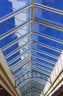 glass arcade roof