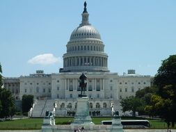 The United States Capitol, government seat, usa, washington dc