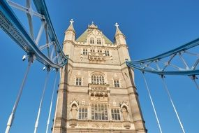 famous tower bridge london