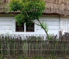 cottage old house wooden