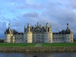 Old castle in Chambord