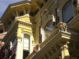 nice building in san francisco california usa