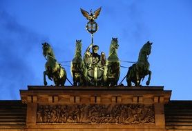 quadriga brandenburg gate berlin