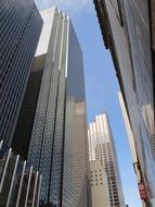 skyscrapers in downtown, usa, texas, dallas