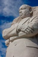 statue of martin luther king