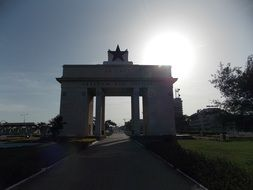 arch in Ghana