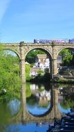picturesque photo of the bridge in Yorkshire