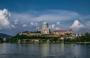 Picture of basilica in esztergom