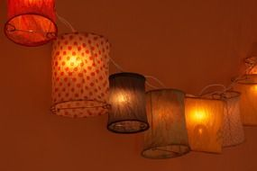 Chinese colorful lantern decorations