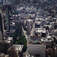 manhattan tilt-shift