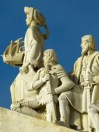 monument of the discoveries, sculpture henry of the navigator, portugal, lisbon