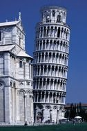 pisa dom leaning tower italy