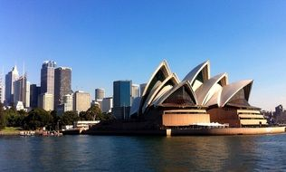 view of opera house in sydney australia