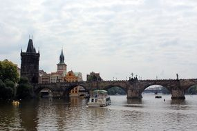 charles bridge is a famous place in Prague