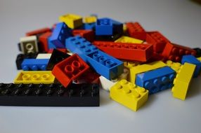 colorful lego toys children play