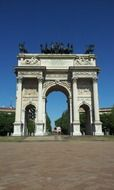 Arco della Pace, city gate, italy, Milan
