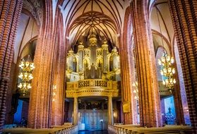 cathedral church Stockholm Sweden