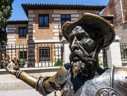 statue of Don Quixote in Madrid