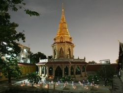 Pagoda in a Thailand