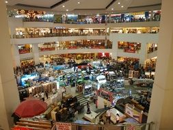 photo of a large shopping center