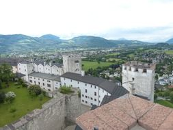 hohensalzburg fortress castle middle ages