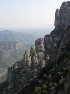 Montserrat, multi-peaked mountain, spain, Catalonia