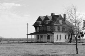 historic building in fort reno