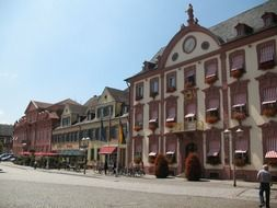luxury hotel on old street, germany, offenburg