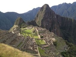 Panorama of Machu Picchu, Peru