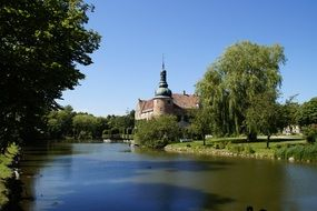moated castle in southern Sweden