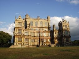 wollaton hall, Elizabethan country house in park, uk, england, nottingham