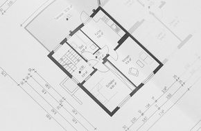 floor plan of modern building