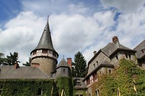 Castle Eyneburg is a castle in Kelmis, Belgium