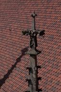 Gothic on the roof of the Ulm Cathedral