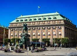 Architecture of city, Stockholm, Sweden