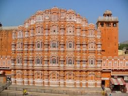 palace of the winds in india