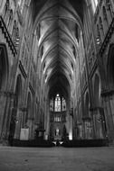 Cathedral of Saint Stephen, interior, france, metz