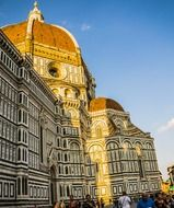 dome florence italy majestic cathedral