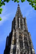 world record height of spire of ulm cathedral