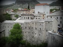 Old town of Mostar in Bosnia and Herzegovina