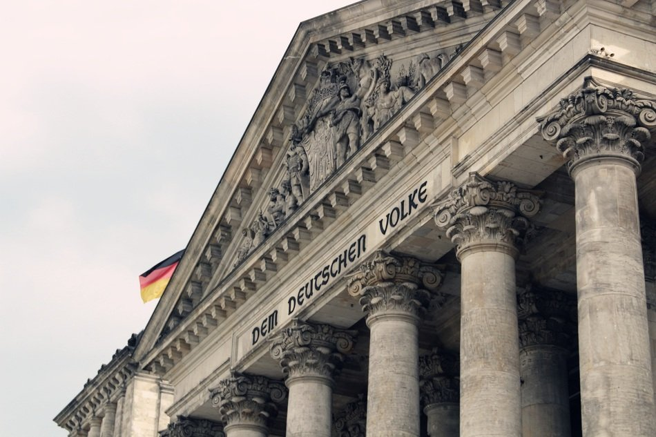 bundestag, top of government building, germany, berlin