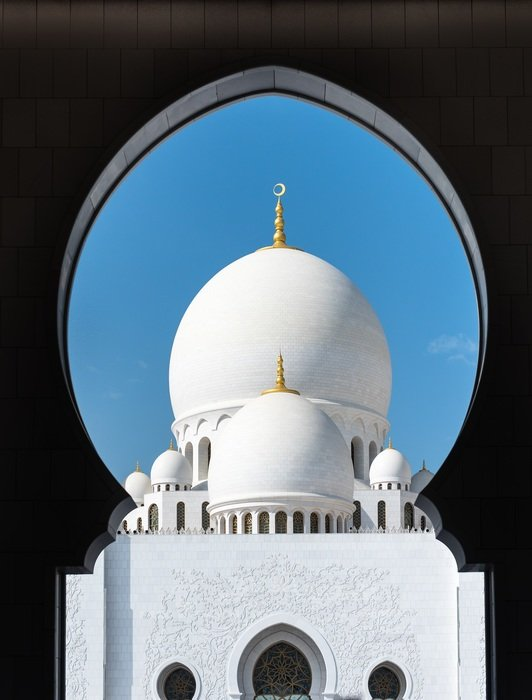 white mosque abu dhabi