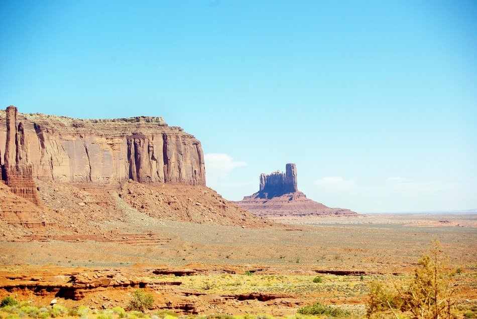 Monument Valley on the landscape, USA