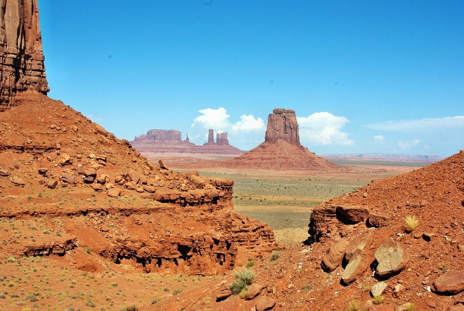 landscape View of Monument Valley in USA