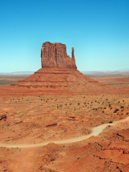 monument valley unique geological formation arizona utah usa