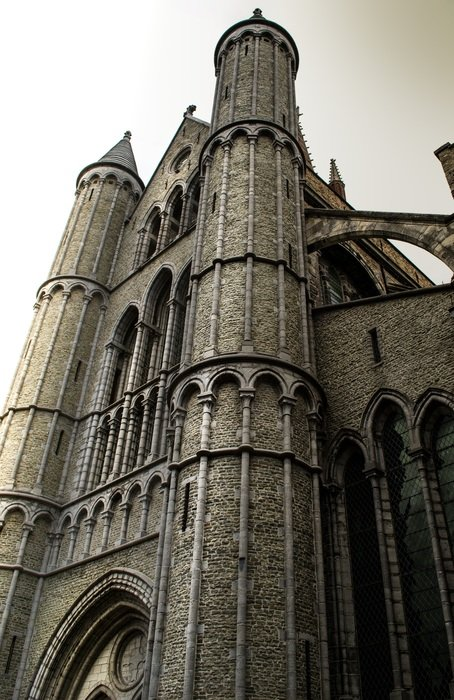 gothic Church of our Lady, belgium, bruges
