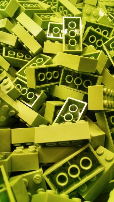 heap of lego building blocks