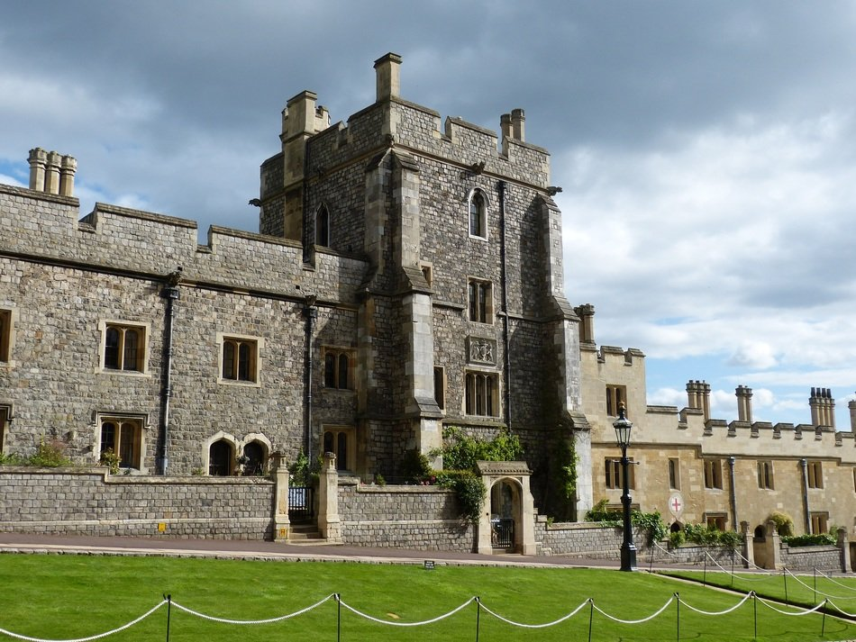 medieval royal residence, windsor castle, uk, england, london